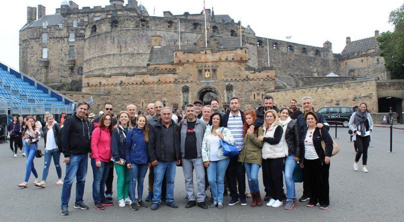 Η ομάδα της MEGA BROKERS ταξίδεψε στο Εδιμβούργο