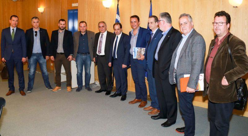 Συνάντηση Ε.Ε.Α. με τον Υπουργό Υποδομών και Μεταφορών κ. Χρ. Σπίρτζη