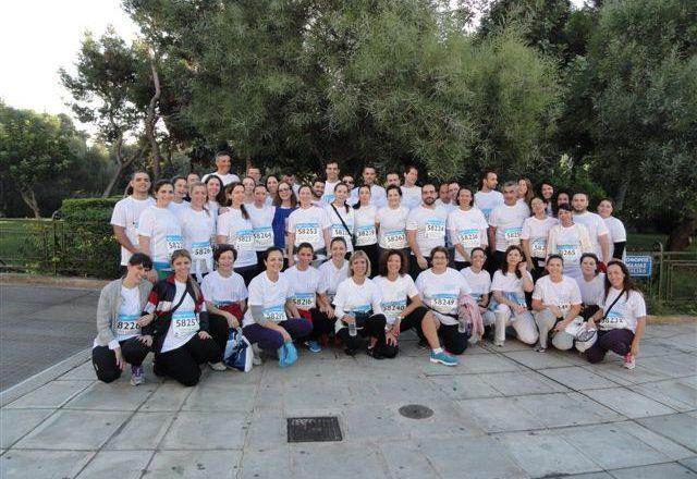 Έτρεξαν στο Μαραθώνιο οι εργαζόμενοι της AIG