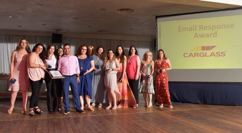 Carglass®: 1η  στα «Teleperformance Greece CRM Grand Prix Customer Service Awards – 2017»