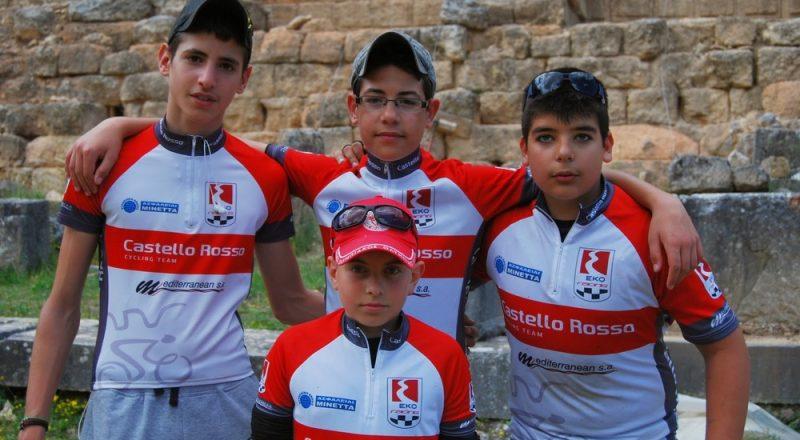 Oι Ασφάλειες Μινέττα στηρίζουν την ποδηλατική ομάδα Castello Rosso Team