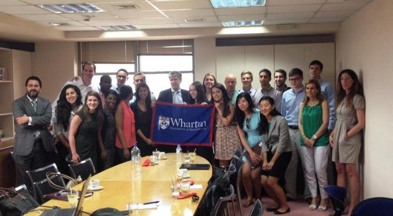 Φοιτητές του Wharton School στην Eurolife ERB Ασφαλιστική