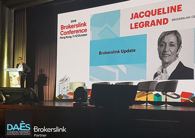 H DAÈS στο 10ο παγκόσμιο συνέδριο των Brokerslink στο Χονγκ Κονγκ