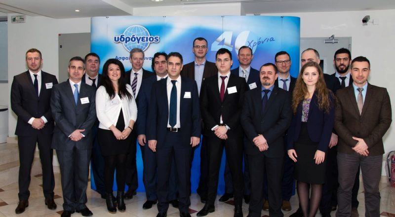 Επίσκεψη του Vienna Insurance Group στην Υδρόγειο Ασφαλιστική