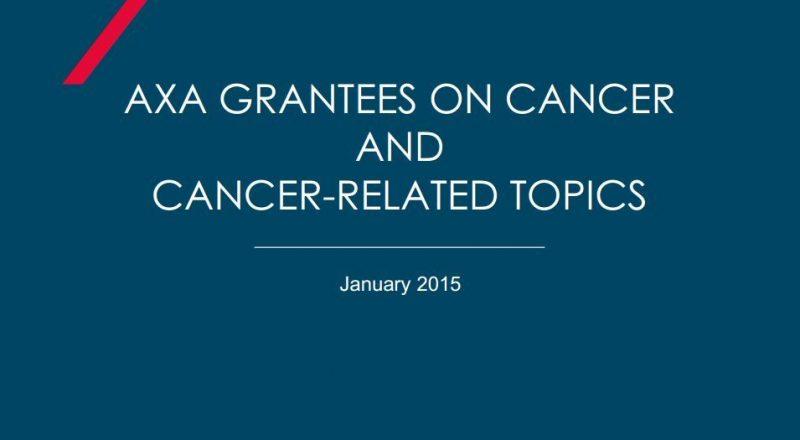 Η ΑΧΑ στηρίζει την έρευνα για την καταπολέμηση του καρκίνου