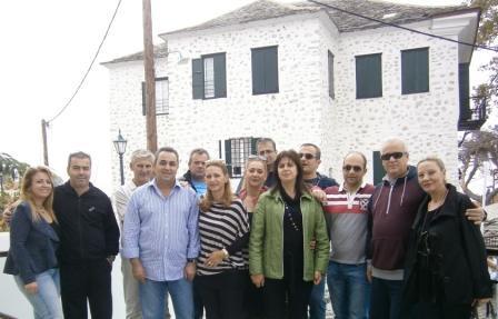 Στο Πήλιο οι συνεργάτες της ΑΧΑ της Διεύθυνσης του κ. Παυλίδη