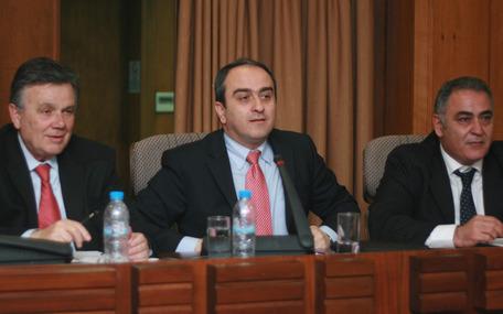 Ο υφυπουργός Ανάπτυξης κ. Αθανάσιος Σκορδάς στο ΕΕΑ