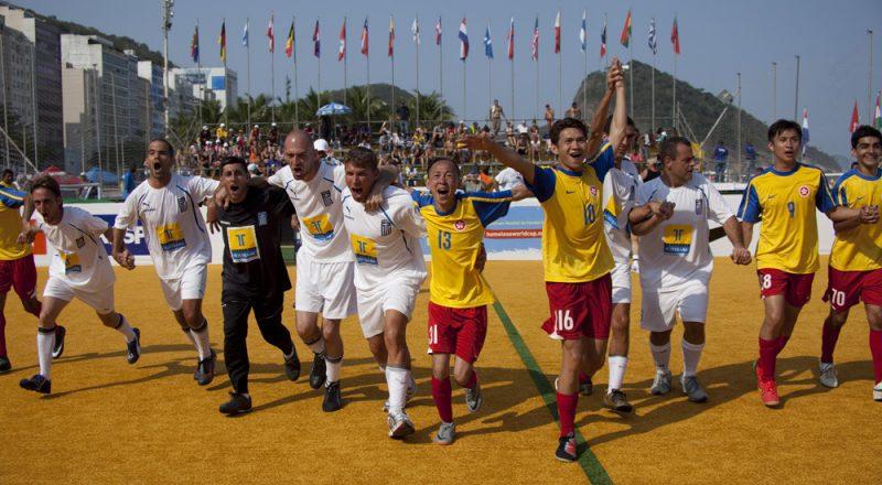 Η Εθνική Αστέγων στο 12ο Παγκόσμιο κύπελλο street soccer με την υποστήριξη της Interamerican