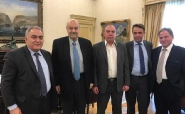 Συνάντηση ΕΕΑ – Προέδρου Εθνικής Τράπεζας