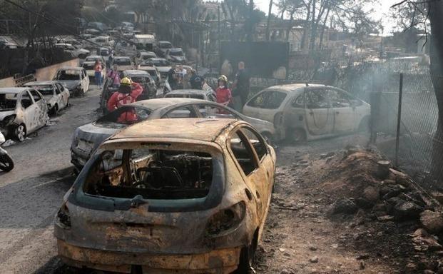 Αποζημιώσεις χωρίς εμπόδια από τις ασφαλιστικές για τα οχήματα που κάηκαν