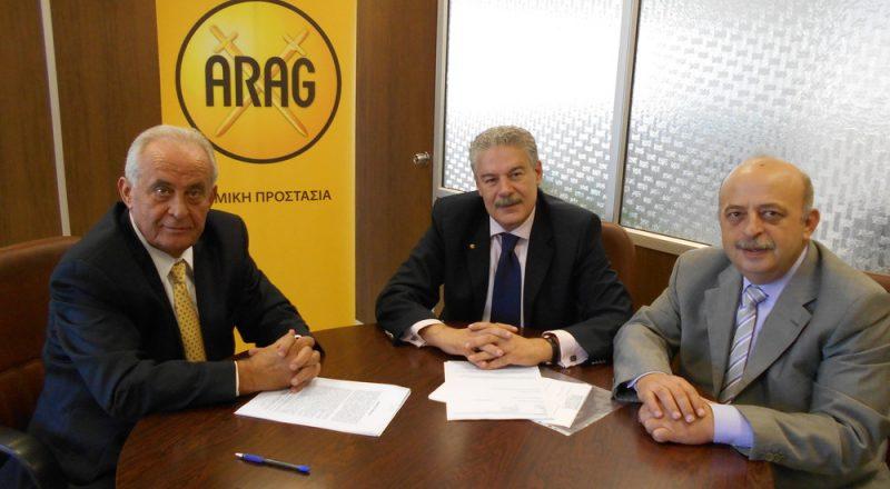 Συνεργασία της ARAG με τον μεσίτη Ι. Οικονόμου