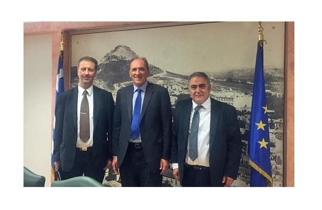 Συνάντηση αντιπροσωπείας του Ε.Ε.Α με τον Υπουργό κ. Γιώργο Σταθάκη
