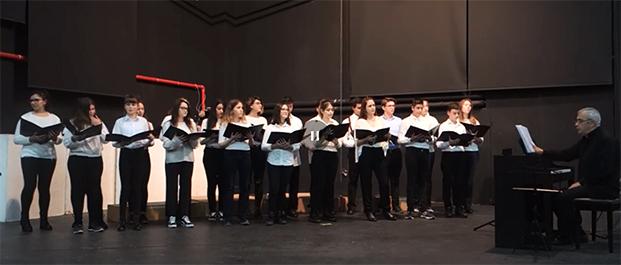 Κάλαντα Χριστουγέννων από τις χορωδίες του Δήμου Αγ. Δημητρίου