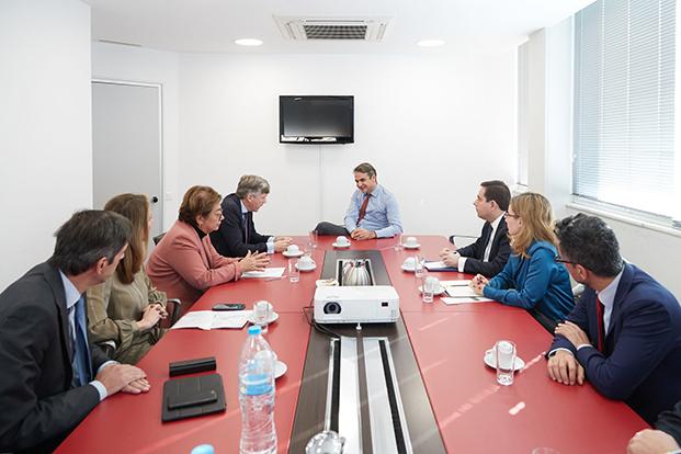 H EAEE σε συναντήσεις με τα πολιτικά κόμματα