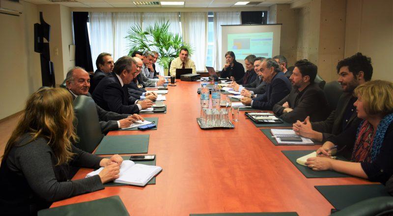 Νέα δομή στήριξης ΜμΕ σε όλη την επικράτεια Συνάντηση φορέων στο Υπουργείο Οικονομίας και Ανάπτυξης