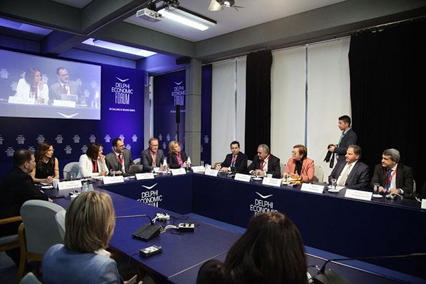 Ο Πρόεδρος του Ε.Ε.Α. στο 4ο Οικονομικό Φόρουμ των Δελφών για το Ασφαλιστικό