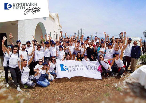 Ευρωπαϊκή Πίστη: Ανάπλαση της παραλίας Κόκκινο Λιμανάκι στη Ραφήνα