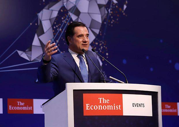 Ο Υπουργός Ανάπτυξης & Επενδύσεων στο ετήσιο συνέδριο του Economist