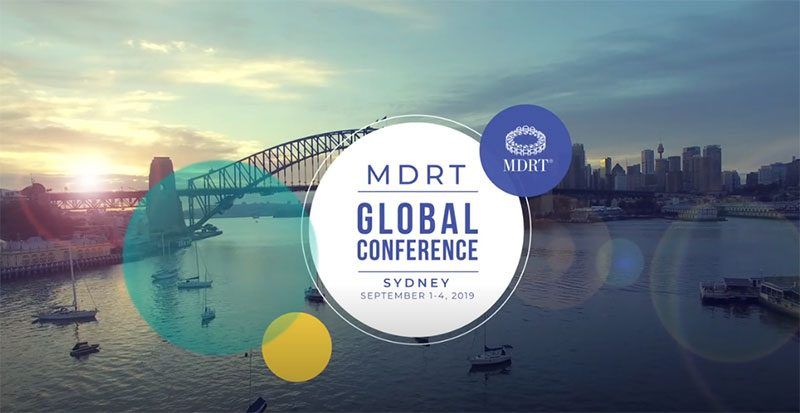 Παγκόσμιο Συνέδριο MDRT  Σίδνεϊ (1-4 Σεπτεμβρίου 2019)