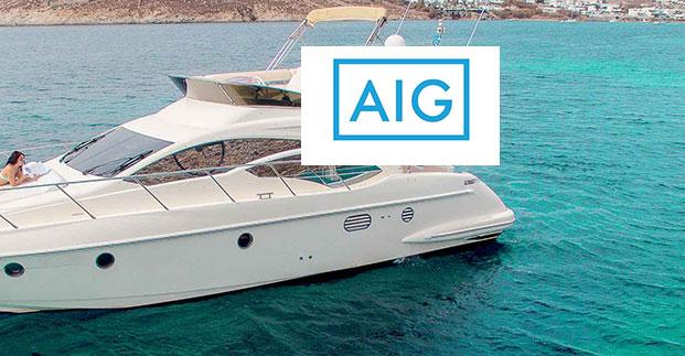 AIG: Ολοκληρωμένο πρόγραμμα ασφάλισης σκάφους
