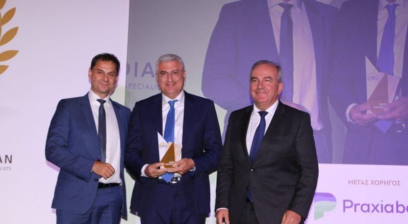 Βράβευση της Εθνικής Ασφαλιστικής στα 1α Επιχειρηματικά Βραβεία «Θαλής ο Μιλήσιος»