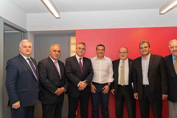 Το Ε.Ε.Α. στη συνάντηση της Επιμελητηριακής Κοινότητας με τον Αλέξη Τσίπρα