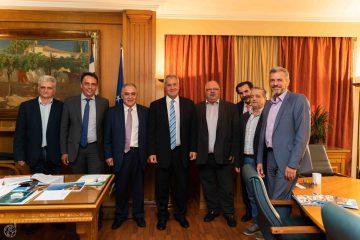Συνάντηση Ε.Ε.Α. με τον Υπουργό Αγροτικής Ανάπτυξης & Τροφίμων Μ. Βορίδη