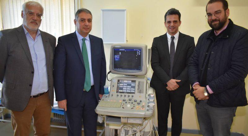 Δωρεά Ιατρικού Εξοπλισμού από την Affidea στο ΚΥ ΑΚΡΑΤΑΣ