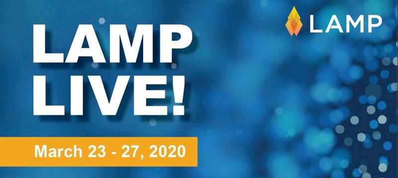 Lamp Live αντί του συνεδρίου LAMP (23-27 Μαρτίου) που αναβάλλεται