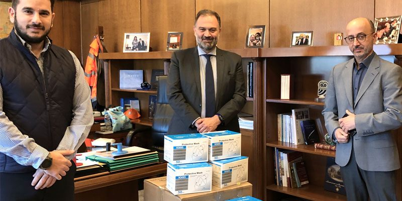 H υποστήριξη των υγειονομικών δομών του Δήμου Αθηναίων από την INTERAMERICAN