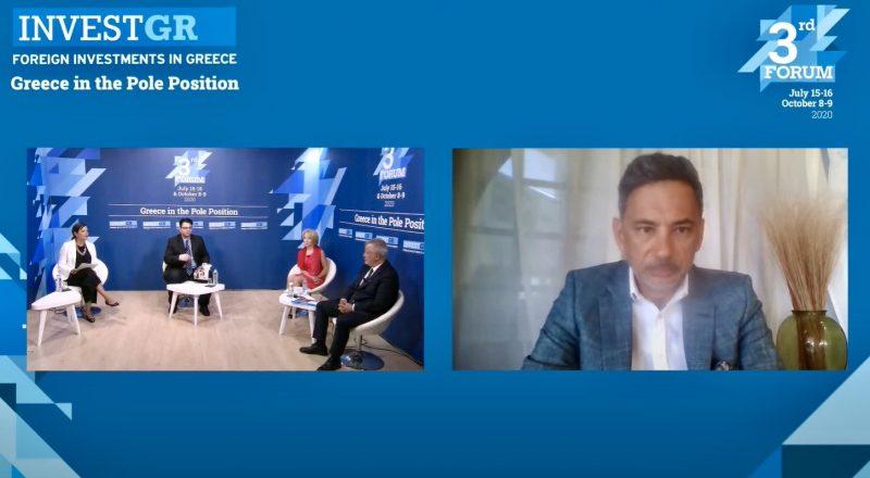 I. Καντώρος «Οι επενδύσεις σε ψηφιακή τεχνολογία και ανθρώπινους πόρους είναι αναπόσπαστα συνδεδεμένες»