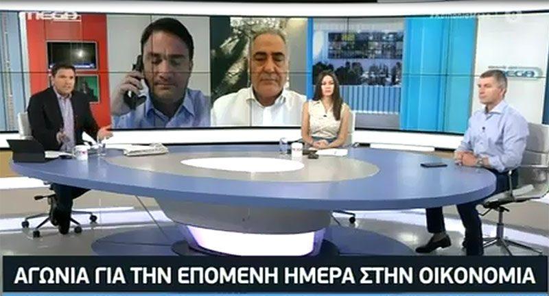 Γ. Χατζηθεοδοσίου στο MEGA: Δεύτερο lockdown θα σήμαινε διάλυση της οικονομίας