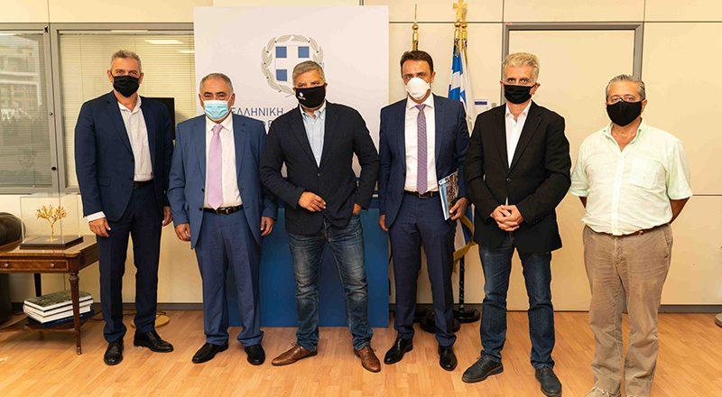 Συνάντηση του Προέδρου του Ε.Ε.Α Γ. Χατζηθεοδοσίου και μελών της Διοίκησης με τον Περιφερειάρχη Αττικής Γ. Πατούλη, με στόχο την στήριξη της επιχειρηματικότητας