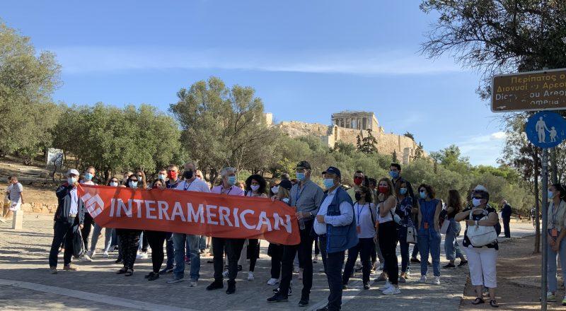 Επίσκεψη INTERAMERICAN στην Ακρόπολη για «Γνωριμία με την Κληρονομιά μας»
