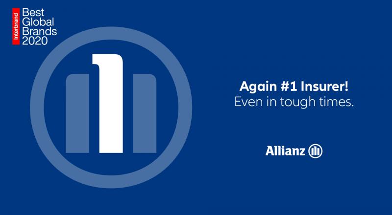 Η Allianz αναδεικνύεται κορυφαίο ασφαλιστικό brand παγκοσμίως