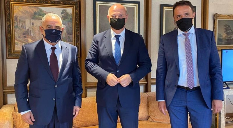 Συνάντηση Προέδρου του Ε.Ε.Α. με τον Υπουργό Δικαιοσύνης για στήριξη της επιχειρηματικότητας και παροχή βοήθειας στους πληγέντες της Καρδίτσας
