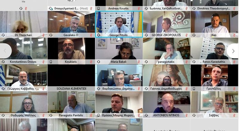 Ενημέρωση Γ. Πιτσιλή σε εκδήλωση του Ε.Ε.Α. για το myDATA – Βίντεο