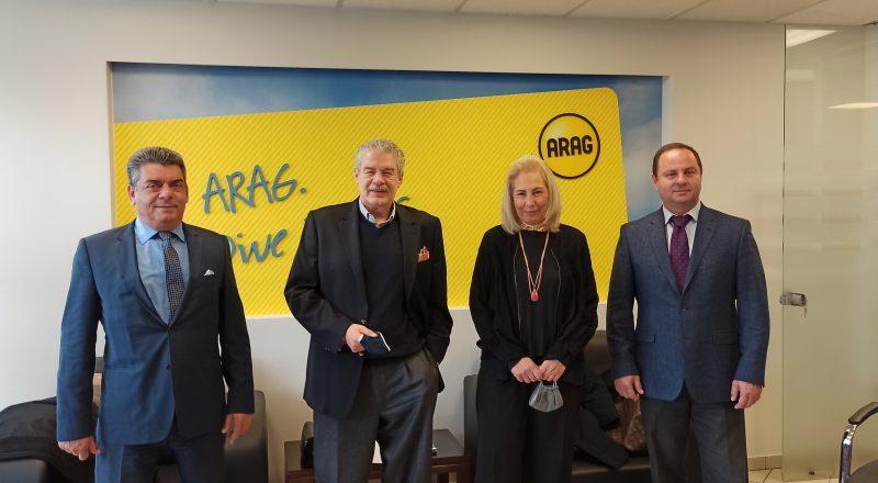 Η ΠΟΑΔ εμπιστεύτηκε στην ARAG τη Νομική της Προστασία