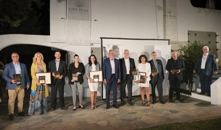 Βραβευθέντες από την Life Plan για το 2021 – Ο  Δ. Γαβαλάκης, παρουσίασε αποτελέσματα και στόχους