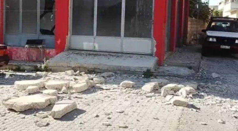 Σεισμός 5,8 στην Κρήτη με ζημιές και απώλειες σε ζωές