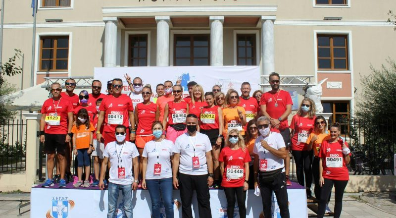 Το ταξίδι του Run Greece ξεκίνησε από την Αλεξανδρούπολη με Μέγα Χορηγό την ERGO Ασφαλιστική