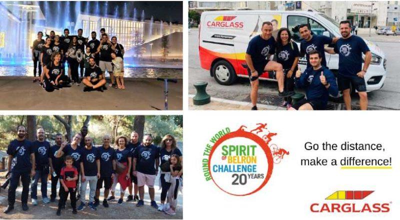 Η Carglass® Ελλάδος συμμετείχε στη φιλανθρωπική και αθλητική διοργάνωση Spirit of Belron